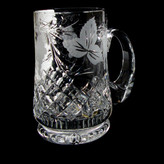 1 Pint Straight Sided Tankard Grapevine