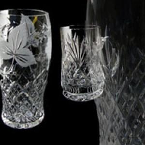 Crystal Tankards & Beers Glasses