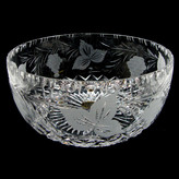 4 inch Round Sided Bowl Grapevine