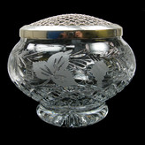 9 inch Round Sided Rose Bowl Grapevine