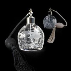 Crystal Perfume Bottles - Tutbury Crystal